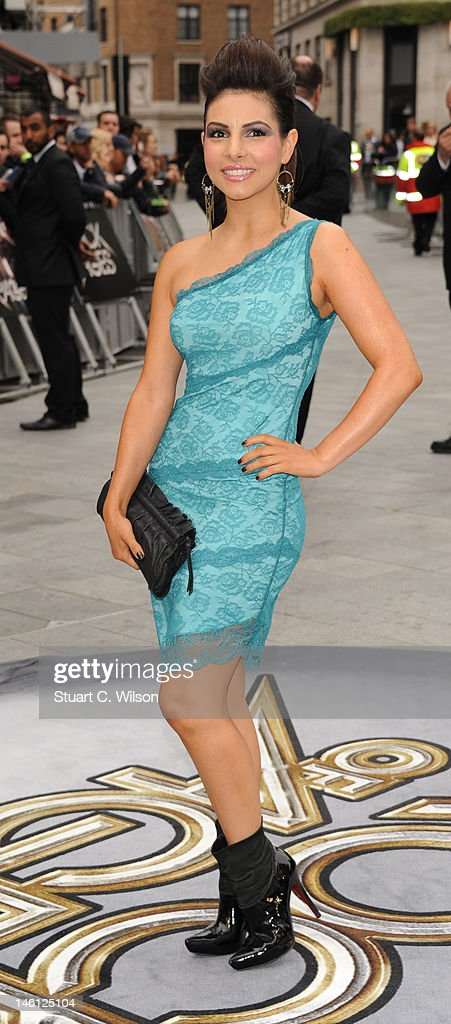 Roxanne Pallett attends the premiere for Rock Of Ages at Odeon Leicester Square on June 10, 2012 in London, England.