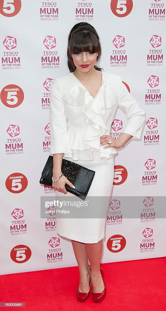 Roxanne Pallett attends the Tesco Mum of the Year awards at The Savoy Hotel on March 3, 2013 in London, England.