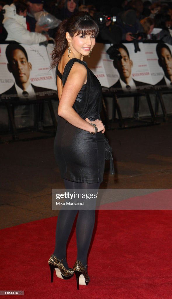 Roxanne Pallett attends the UK gala premiere of Seven Pounds at The Empire on January 14 2009 in London England