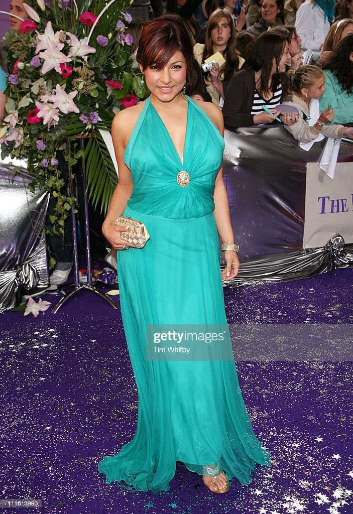 Roxanne Pallett during British Soap Awards 2006 Arrivals at BBC Television Centre in London Great Britain