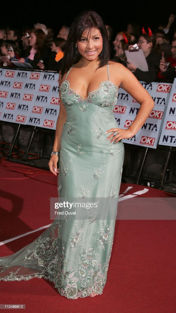 Roxanne Pallett during National Television Awards 2006 Red Carpet at Royal Albert Hall in London Great Britain
