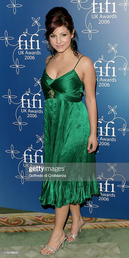 Roxanne Pallett during UK FiFi Awards 2006 Arrivals at The Dorchester in London Great Britain