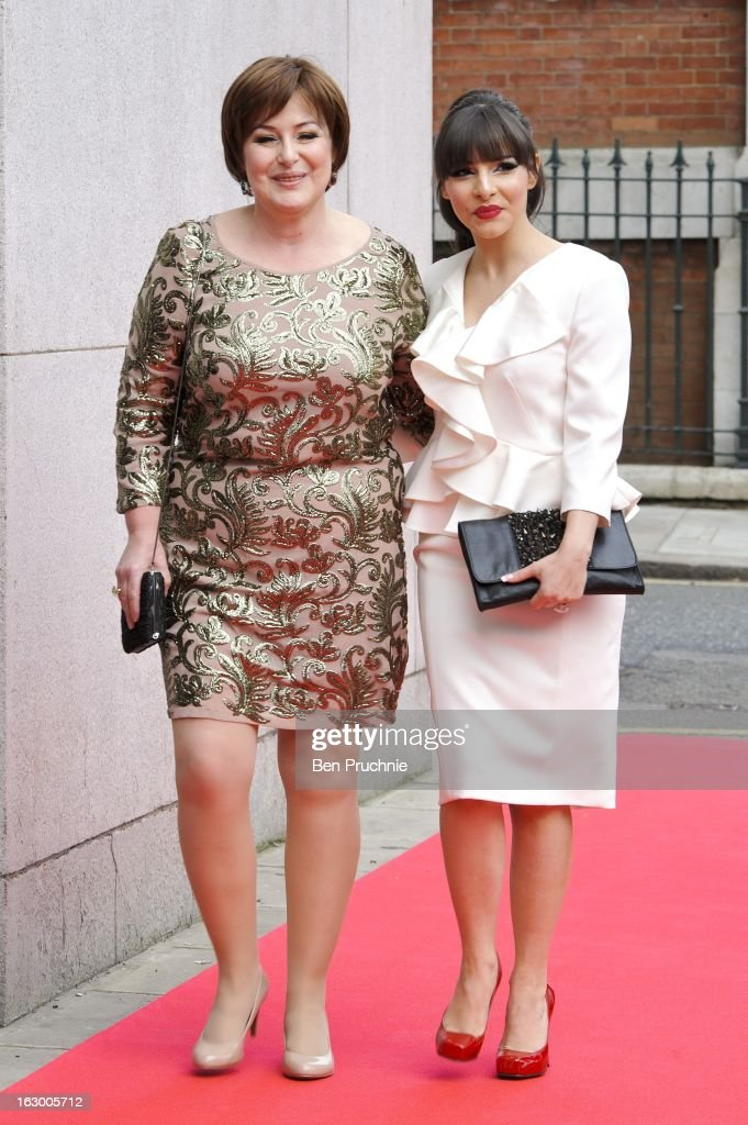 <a gi-track='captionPersonalityLinkClicked' href=/galleries/search?phrase=Roxanne+Pallett&family=editorial&specificpeople=626727 ng-click='$event.stopPropagation()'>Roxanne Pallett</a> sighted arriving at The Savoy Hotel on March 3, 2013 in London, England.