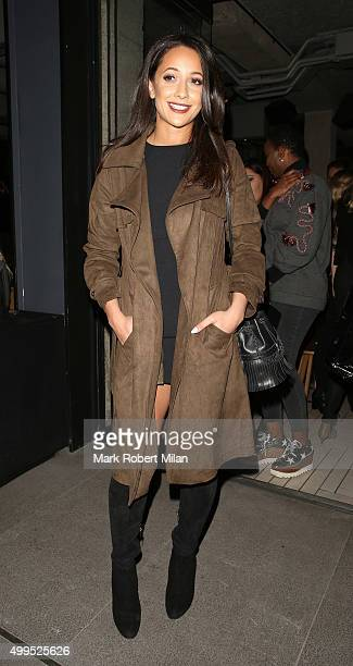 Roxi Nafousi attending the InStyle Project 13 wrap party at Chotto Matte restaurant on December 1 2015 in London England