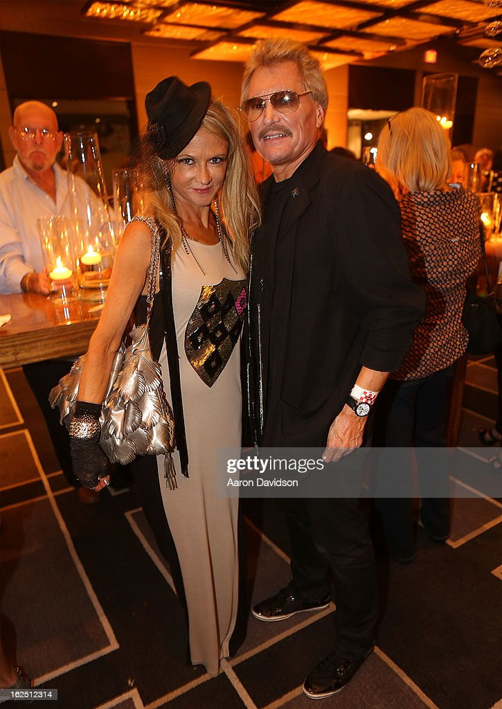 Roxie and Scott Dragoo attend Chicken Coupe Dinner at W South Beach Hotel & Residences on February 23, 2013 in Miami Beach, Florida.
