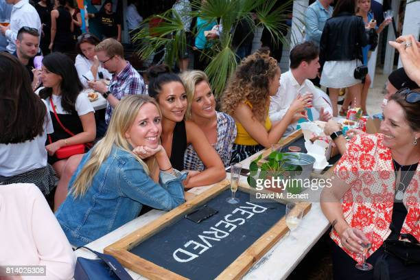 Roxie Nafousi and guests pictured at the VIP launch of Just Eat Food Fest Desert Island Dishes in Red Market London The threeday desert...