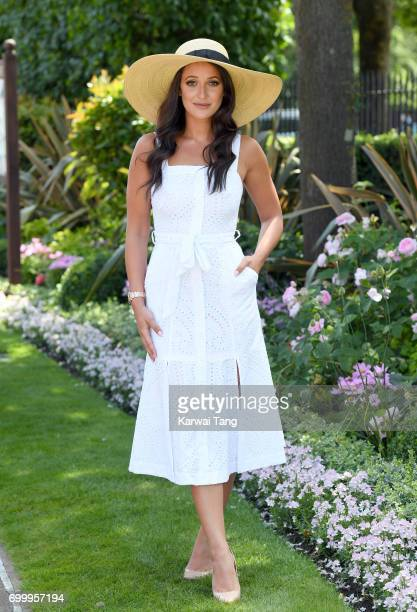 Roxie Nafousi attends Ladies Day of Royal Ascot 2017 at Ascot Racecourse on June 22 2017 in Ascot England