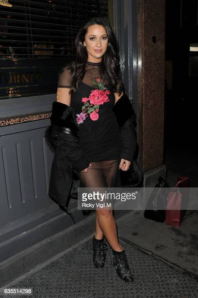 Roxie Nafousi attends LFW a/w 2017 NEW LOOK preLFW drinks reception on February 15 2017 in London England
