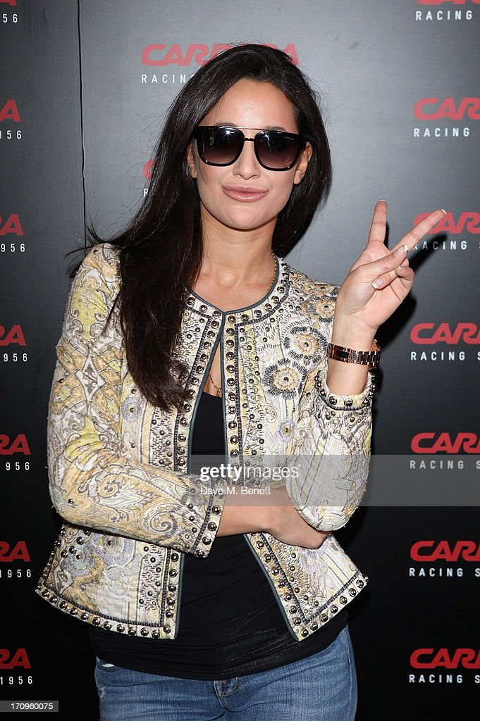 Roxie Nafousi attends the Carrera Ignition Night at The House of St Barnabas on June 20, 2013 in London, England.