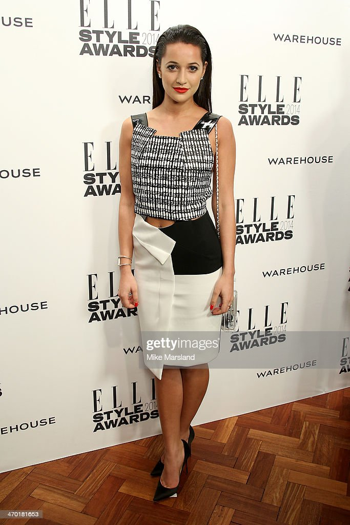 Roxie Nafousi attends the Elle Style Awards 2014 at one Embankment on February 18, 2014 in London, England.