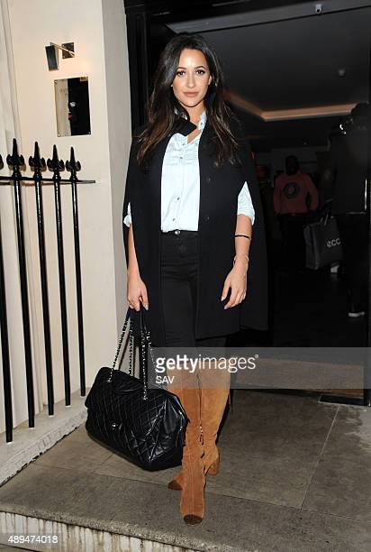 Roxie Nafousi attends The Haymarket Hotel Cocktail Party on September 21 2015 in London England