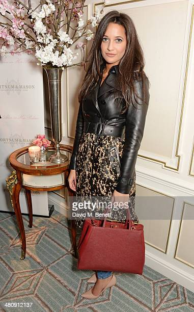 Roxie Nafousi attends the launch of 'Mrs Alice In Her Palace' hosted by Alice Naylor Leyland at Fortnum Mason on March 27 2014 in London England