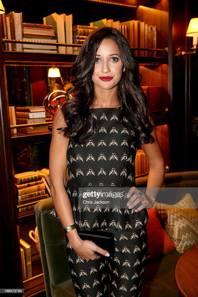 Roxie Nafousi attends the opening of Rosewood London on October 30, 2013 in London, England.