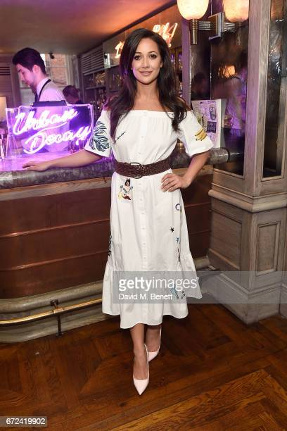 Roxie Nafousi attends the VIP dinner to celebrate Urban Decay's arrival at Selfridges London on April 24 2017 in London England