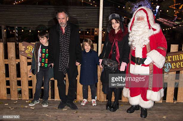 Roxie Nafouzi attends the Winter Wonderland VIP opening at Hyde Park on November 20 2014 in London England