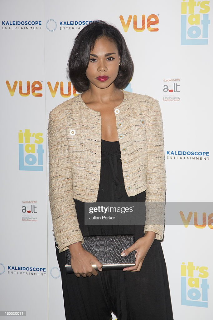 Roxie Sternberg attends the West End Premiere of 'It's A Lot' at Vue West End on October 21, 2013 in London, England.