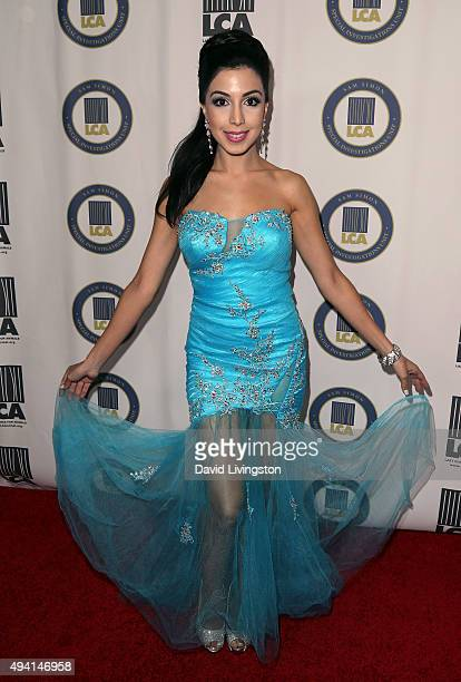 Roxy Darr attends the Last Chance for Animals Benefit Gala at The Beverly Hilton Hotel on October 24 2015 in Beverly Hills California
