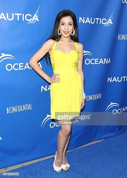 Roxy Darr attends the Nautica and LA Confidential's Oceana Beach House Party on May 16 2014 in Santa Monica California