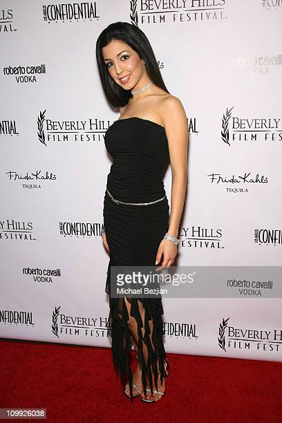 Roxy Darr during 2006 Beverly Hills Film Festival Opening Night Arrivals at Writers Guild Theater in Beverly Hills California United States