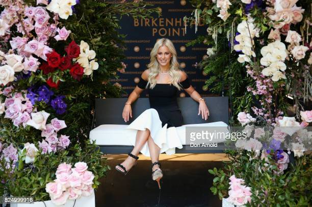 Roxy Jacenko arrives ahead of the Birkenhead Point Outlet Centre HighEnd Precinct Launch on August 1 2017 in Sydney Australia