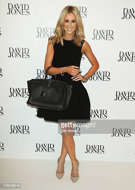 Roxy Jacenko arrives at the David Jones Spring/Summer 2013 Collection Launch at David Jones Elizabeth Street on July 31 2013 in Sydney Australia