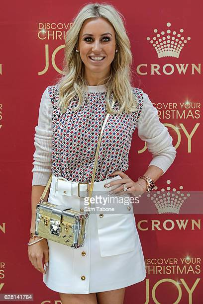 Roxy Jacenko attends Ann Peacock's Women in Media Christmas Luncheon at The Atlantic at Crown Casino on December 7 2016 in Melbourne Australia