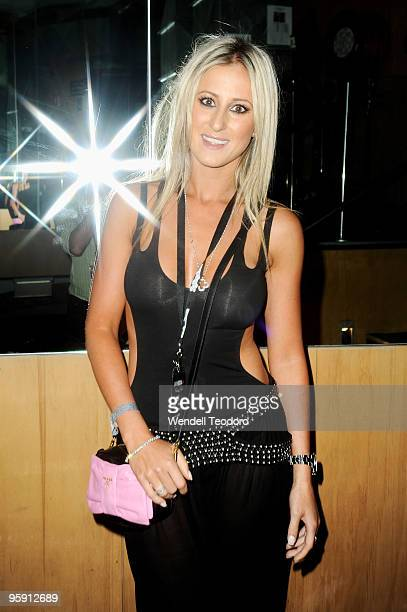 Roxy Jacenko attends the 1st Annual Rolling Stone Awards at Oxford Art Factory on January 21 2010 in Sydney Australia The Awards are intended to...