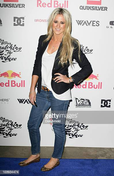 Roxy Jacenko attends the Australian premier of 'Scratching the Surface' at Sun Studios on September 9 2010 in Sydney Australia