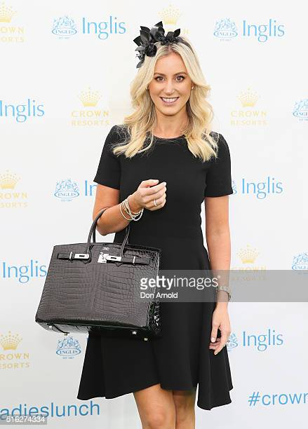 Roxy Jacenko attends the Crown Resorts Ladies Lunch at Inglis Stables at Inglis Newmarket Stables on March 18 2016 in Sydney Australia