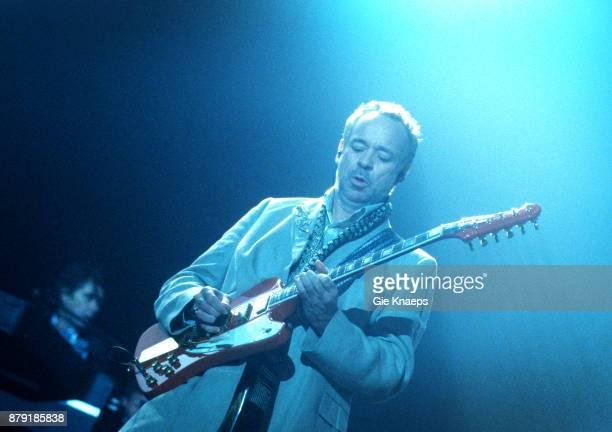 Roxy Music Brian Ferry Phil Manzanera performing on stage Rock Werchter Festival Werchter Belgium July 2001