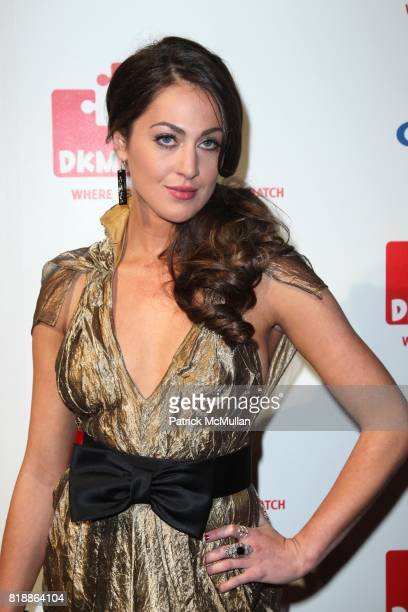Roxy Olin attends DKMS' 4th Annual Gala' LINKED AGAINST LEUKEMIA at Cipriani's 42nd St on April 29 2010 in New York City