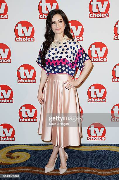 Roxy Shahidi attends the TV Choice Awards 2014 at London Hilton on September 8 2014 in London England