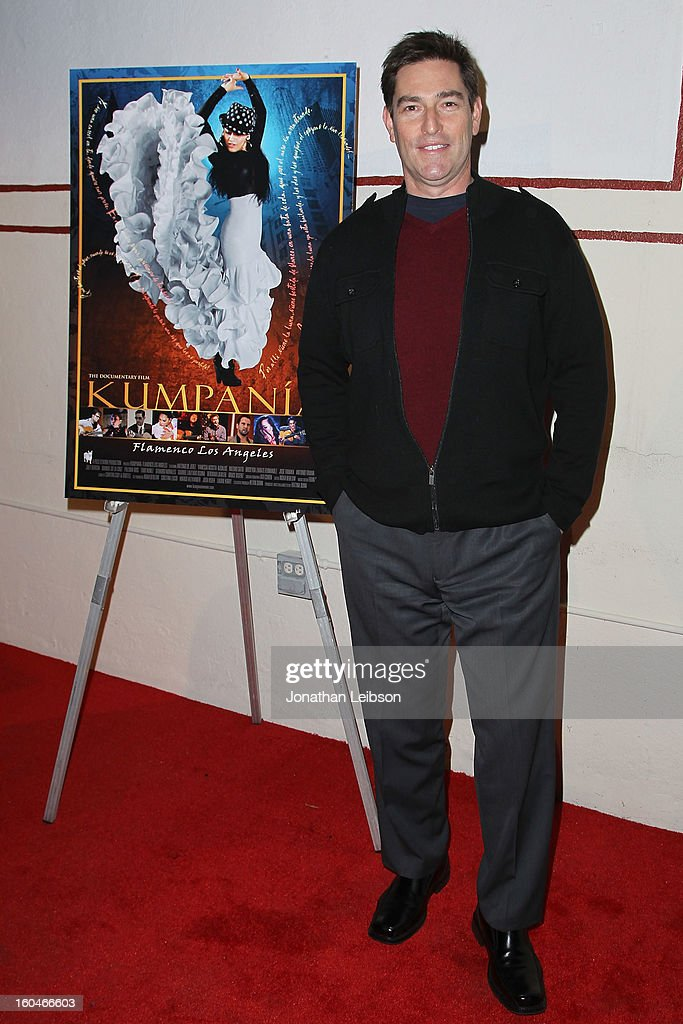 Roy Abramsohn attends the 'Kumpania: Flamenco Los Angeles' - Los Angeles Premiere - Arrivals at El Cid on January 31, 2013 in Los Angeles, California.