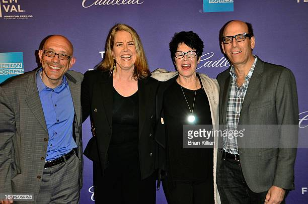 Roy Ackerman director Marina Zenovich Jennifer Lee Pryor and Matt Blank attend the screening of 'Richard Pryor Omit the Logic' during the 2013...