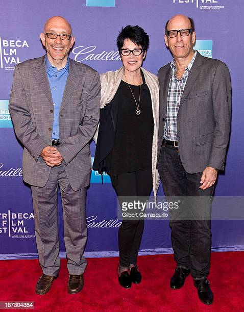 Roy Ackerman Jennifer Lee Pryor and Matthew C Blank attend the screening of 'Richard Pryor Omit the Logic' during the 2013 Tribeca Film Festival at...