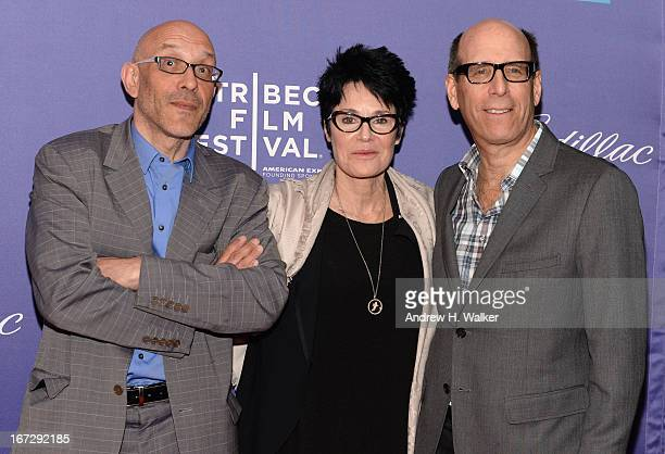 Roy Ackerman Jennifer Lee Pryor and Matthew C Blank attend the 'Richard Pryor Omit the Logic' world premiere during the 2013 Tribeca Film Festival on...