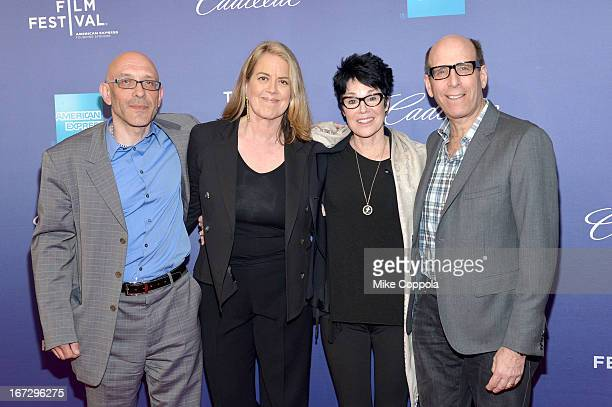 Roy Ackerman Marina Zenovich Jennifer Lee Pryor and Matthew C Blank attend SHOWTIME'S Richard Pryor Omit The Logic Documentary on April 23 2013 in...