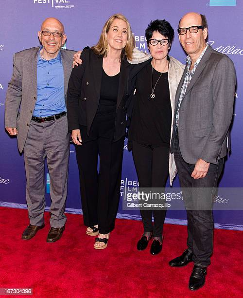 Roy Ackerman Marina Zenovich Jennifer Lee Pryor and Matthew C Blank attend the screening of 'Richard Pryor Omit the Logic' during the 2013 Tribeca...