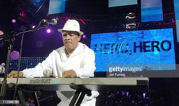 Roy Ayers during Hero2Hero Concert Sponsored by O2 at Shepherds Bush Palais in London Great Britain