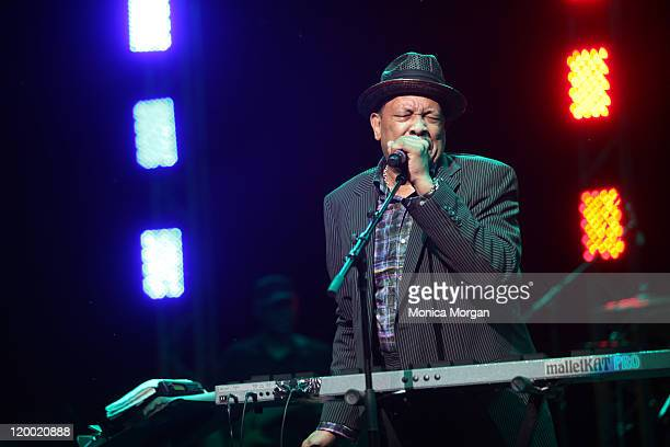 Roy Ayers performs at Chene Park on July 27 2011 in Detroit Michigan