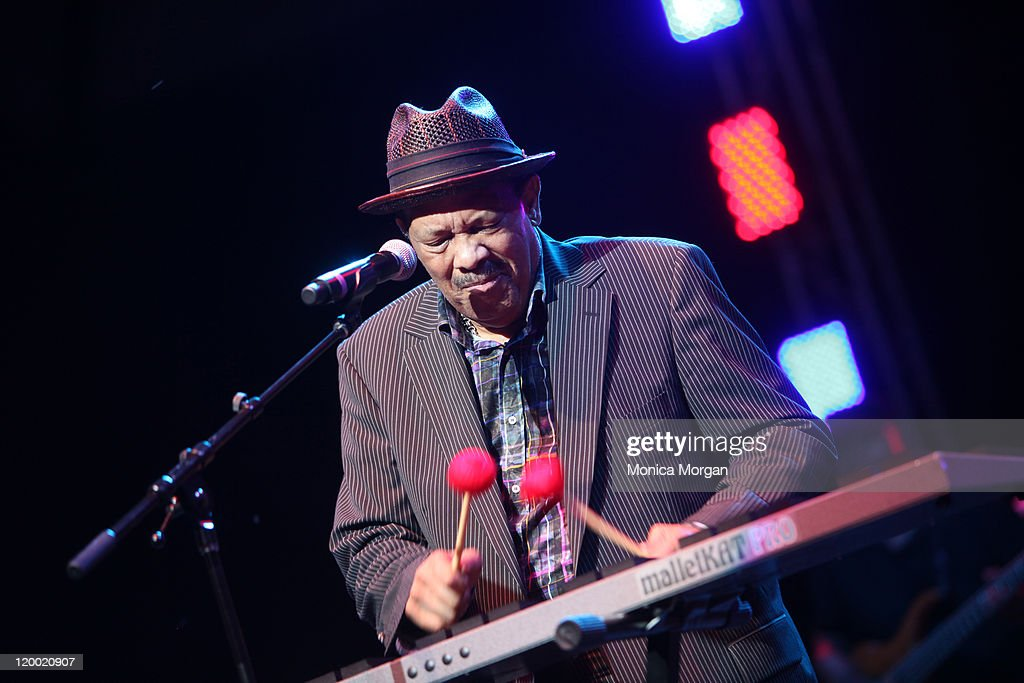 Roy Ayers performs at Chene Park on July 27, 2011 in Detroit, Michigan.
