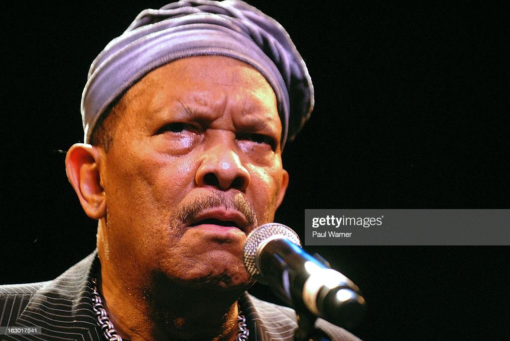 Roy Ayers performs in concert at Music Hall Center on March 2, 2013 in Detroit, Michigan.