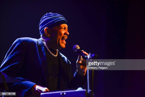 Roy Ayers performs on stage as part of the PDX Jazz Festival at Revolution Hall in Portland Oregon USA on 23rd February 2017