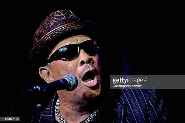 Roy Ayers performs on stage at Band On The Wall on July 17 2011 in Manchester United Kingdom
