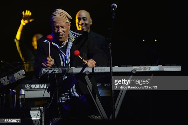 Roy Ayers performs on stage at Keep A Child Alive's 10th Annual Black Ball at Hammerstein Ballroom on November 7 2013 in New York City