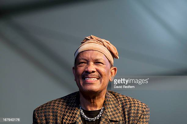 Roy Ayers performs on stage on Day 4 of New Orleans Jazz Festival on May 2 2013 in New Orleans Louisiana