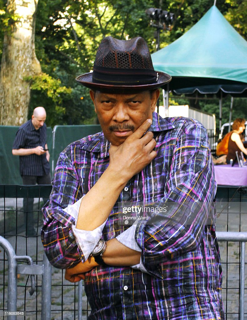 Roy Ayers poses at the Central Park SummerStage on July 2, 2011 in New York City.