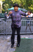 Roy Ayers poses at the Central Park SummerStage on July 2 2011 in New York City