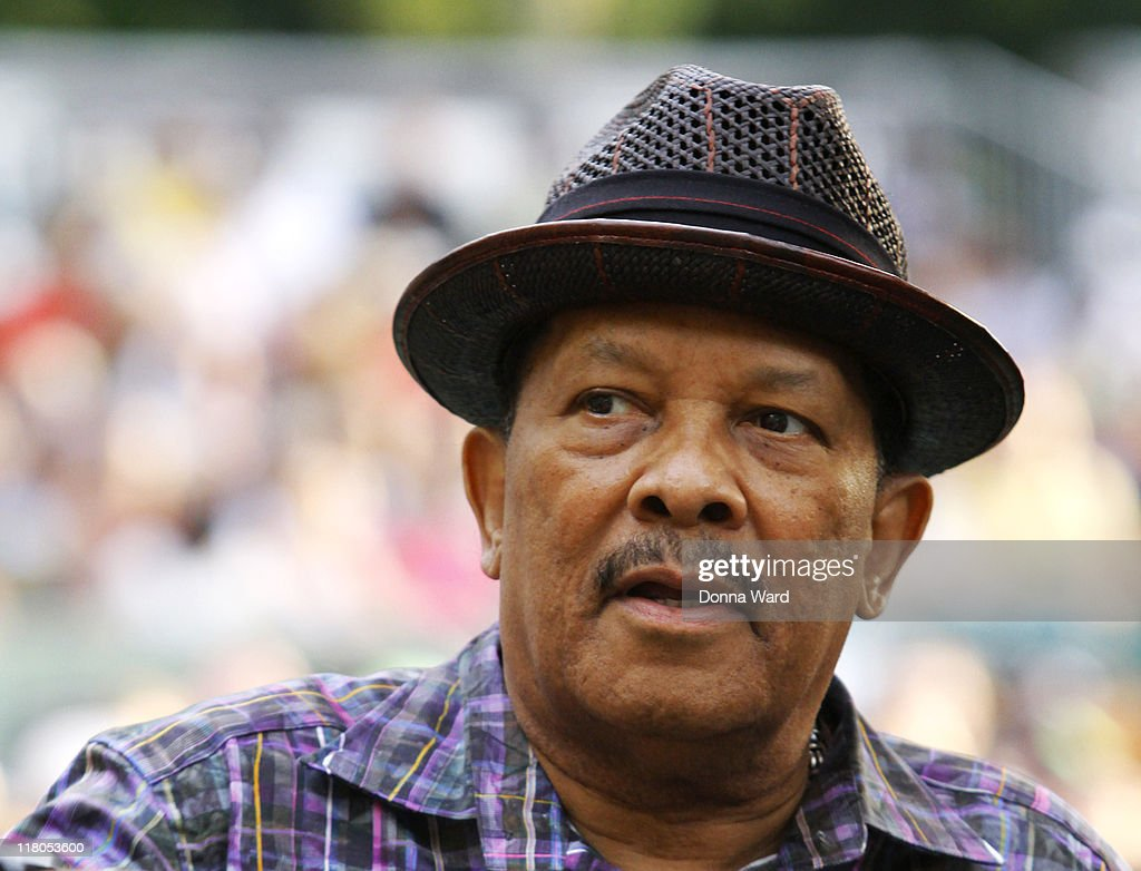 <a gi-track='captionPersonalityLinkClicked' href=/galleries/search?phrase=Roy+Ayers&family=editorial&specificpeople=760927 ng-click='$event.stopPropagation()'>Roy Ayers</a> poses at the Central Park SummerStage on July 2, 2011 in New York City.