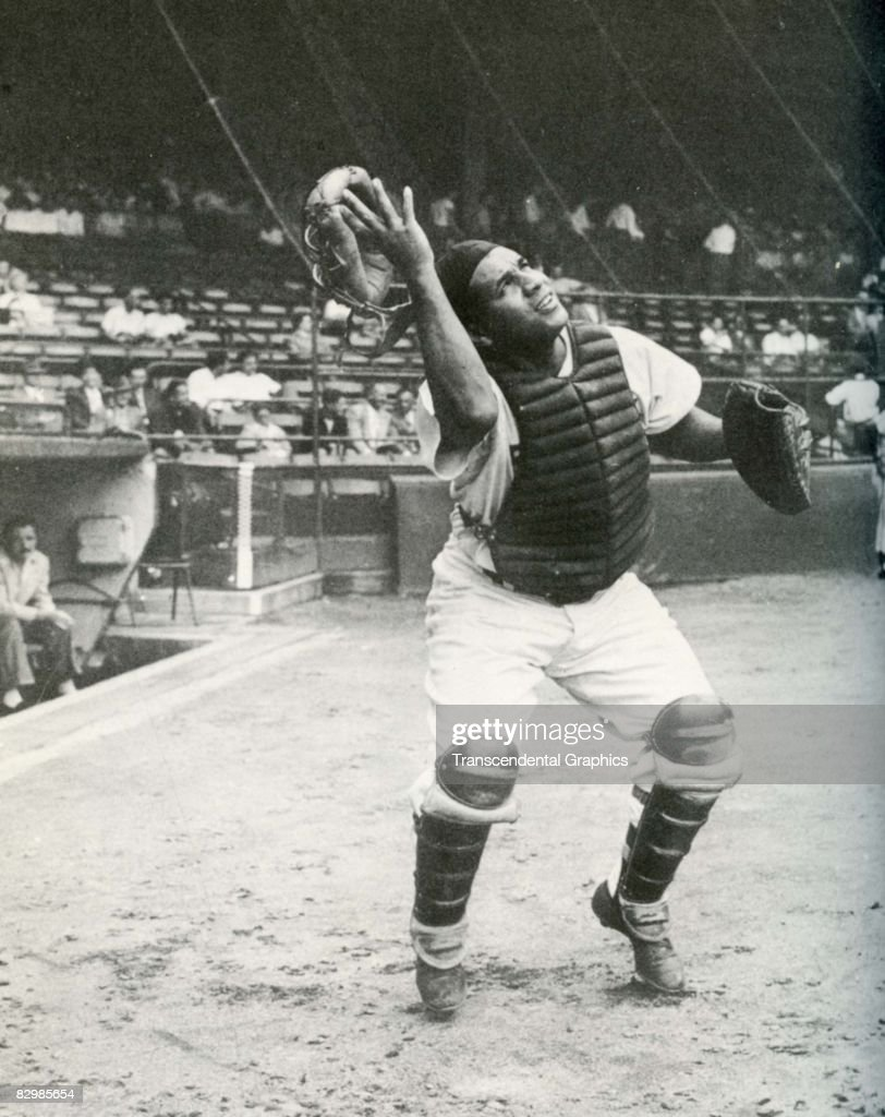 roy campanella stock photos and pictures getty images roy campanella after a popup 1951 ebbets field